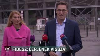 Fidesz: lépjenek vissza! 2019.09.09.