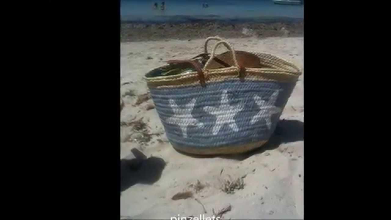 Cestas de mimbre decoradas youtube for Fabrica de canastas de mimbre