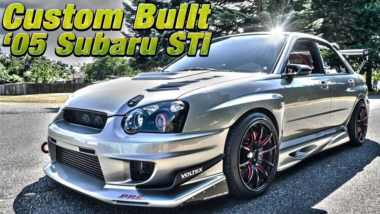 fully custom built 2005 subaru impreza wrx sti - northwest