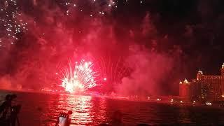 dubai fireworks atlantis 2020 atlantis the palm Dubai fireworks