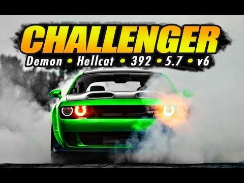 Dodge Challenger 0-60 & 1/4 Mile Times...