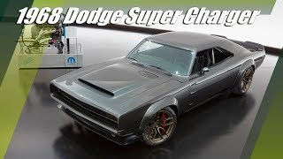 "1000 HP 1968 Dodge ""Super Charger"" SEMA Concept (2018)"