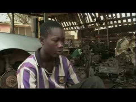 African boys' footballing dreams - 20 Jan 08