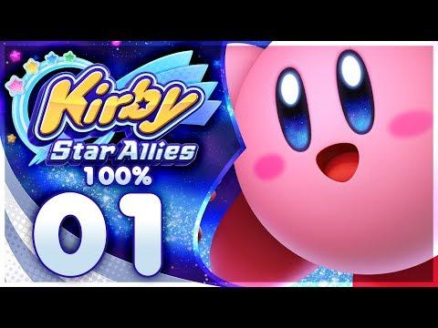 Kirby Star Allies - 100% Walkthrough: Dream Land   Part 1 + GIVEAWAY!