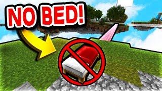 NO BED CHALLENGE! (Minecraft Bed Wars)