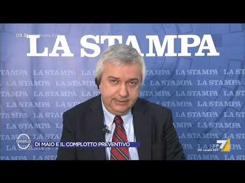 Maurizio Molinari (La Stampa): 'Di Maio ha augurato la chiusura del gruppo GEDI e quindi di ...