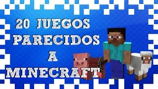 20 juegos parecidos a minecraft  para PC│ SextaGaming