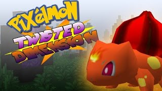 pixelmon twisted dimension   episode 1 a whole new world minecraft pixelmon roleplay