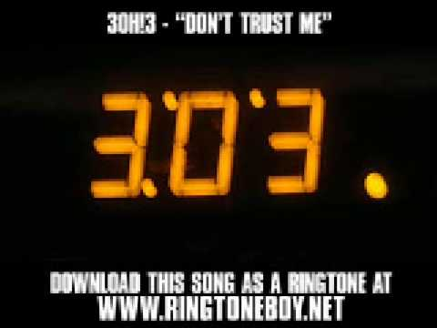 3OH!3- Don't Trust Me lyrics - YouTube