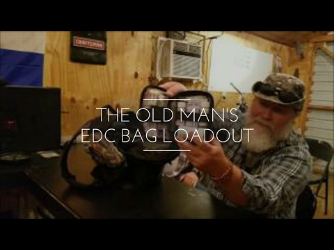 Everyday Carry (EDC) Bag Contents With the Bootheel Kid and The Old Man