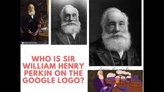 Who was Sir William Henry Perkin Google Doodle remembers chemist who discovered first aniline dye