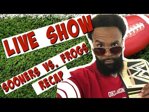 🔴 No. 5 OU Sooners vs. No. 6 TCU Horned Frogs Recap 2017 | Oklahoma Football