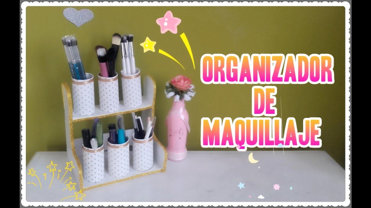 Organizador hecho con rollos de papel higi nico youtube - Organizador de papeles ...