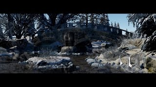 Speed Level Design - Winter Bridge - Unreal Engine 4