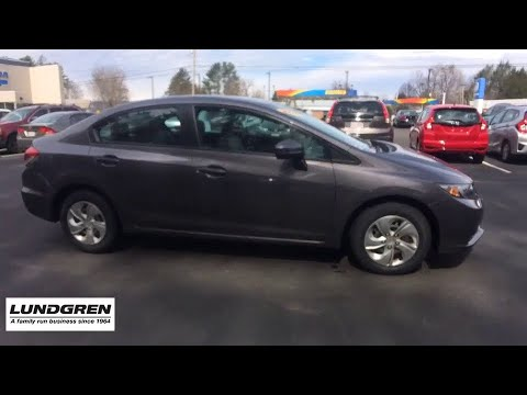 2015 Honda Civic Greenfield, Keene, Brattleboro, Northampton, Springfield,  MA A18077