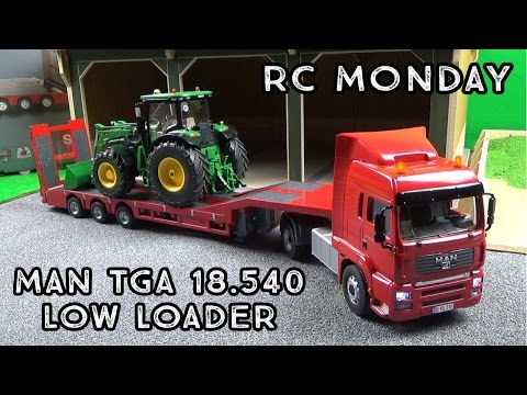 RC Monday | Siku MAN TGA 18.540 Low Loader Truck RC Lorry