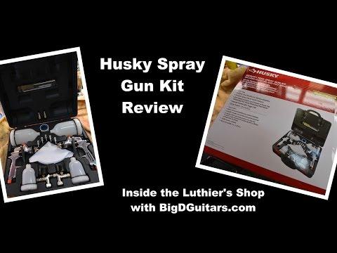 Husky Spray Gun Kit Review from Home Depot