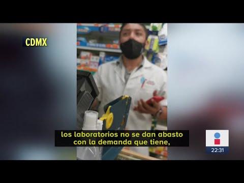 Ni aspirinas hay para enfermos de Coronavirus en CDMX   Noticias con Ciro Gómez Leyva