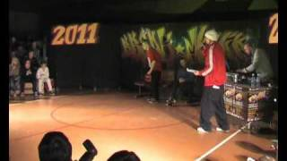 BREAKMANIA 2011 - judges show ( Marcin, Bartazz, Lau )
