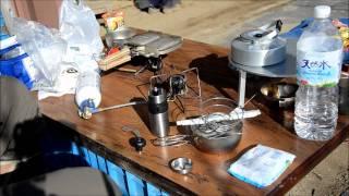 長芋掘りとランチに焼いたホットサンド(クロックムッシュ)の動画に、N...