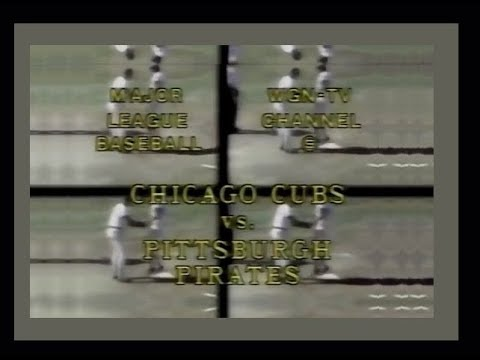 WGN Channel 9 - Chicago Cubs vs. Pittsburgh Pirates (First 23 Minutes, 9/23/1979)