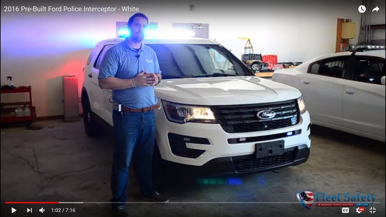 2016 Ford Explorer For Sale >> Sold! 2016 Ford Police Interceptor SUV Whelen DUO Legacy ...