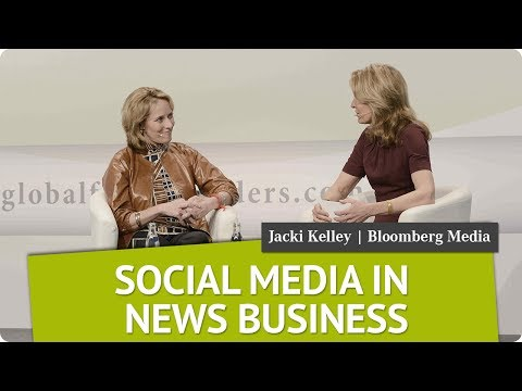 The News Media & Innovation | Jacki Kelley, Bloomberg Media Group | Global Female Leaders 2017