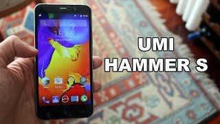 UMI Hammer S, móvil con USB tipo C y lector de huellas