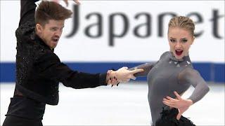 Российские фигуристы Александра Степанова и Иван Букин Ритм танец на чемпионате мира 2019 года