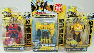 Transformers Autobots Bumblebee and Optimus Prime