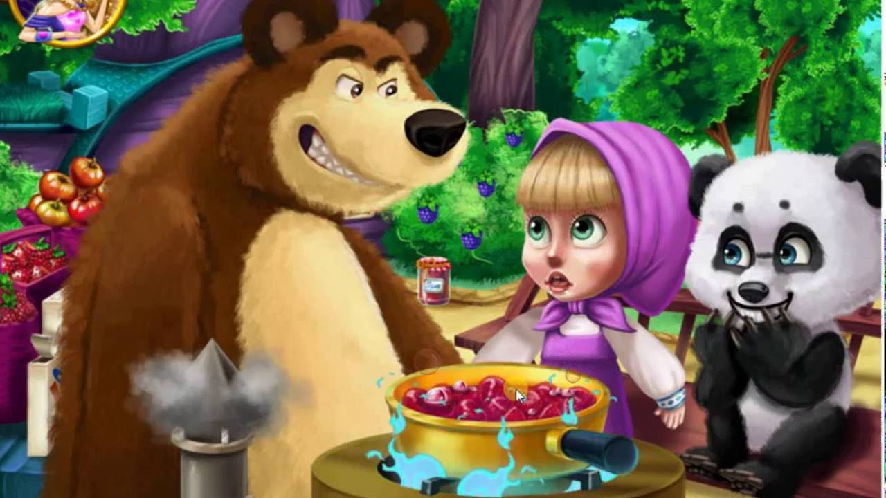 Картинки маша и медведь и винкс