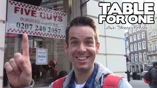 Five Guys - Table For One with Simon Feilder - TIME OUT Special Episode