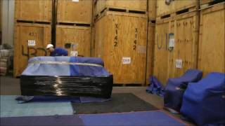 Movers USA- this is how we pack Upholstery. thumbnail