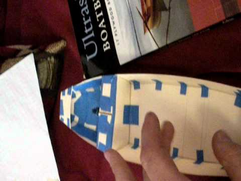 stitch and glue boat project part 1: synopsis - YouTube