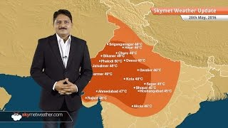 Weather Forecast for May 20: Severe heat wave over Rajasthan, Gujarat and Delhi