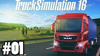 Truck Simulation 16 #01 - Wir fahren nach Berlin ★ Let