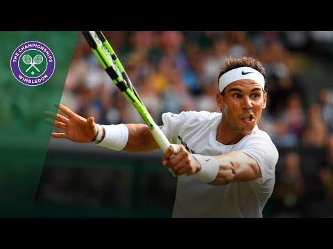 Rafael Nadal v Karen Khachanov highlights - Wimbledon 2017 third round