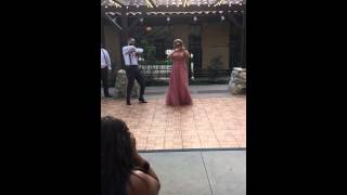 Best wedding entrance ever! Harlem Shake! Bride falls