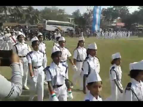 GHATAL 2017 RD PARED JOIN W.B.P, GHATAL COLLAGE  N.C.C, NSS, PHYSICAL EDUCATION & SCHOOL OR CLABE