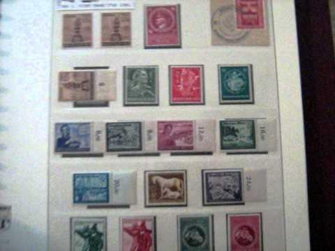 My German Stamp Collection, Deutsches Reich 1933 to 1945