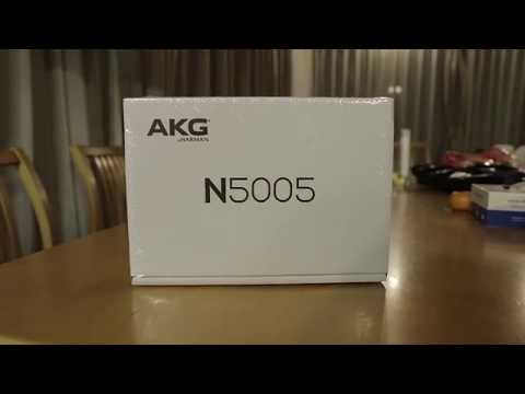 AKG N5005 5-Driver Hybrid Earphone Unboxing! |Earphoneus Fanaticus