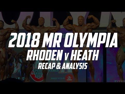 How Did Shawn Rhoden Beat Phil Heath? Mr Olympia 2018 Recap   The GAINZ Trust Episode 11