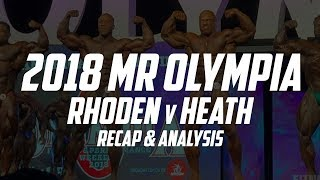 How Did Shawn Rhoden Beat Phil Heath? Mr Olympia 2018 Recap | The GAINZ Trust Episode 11