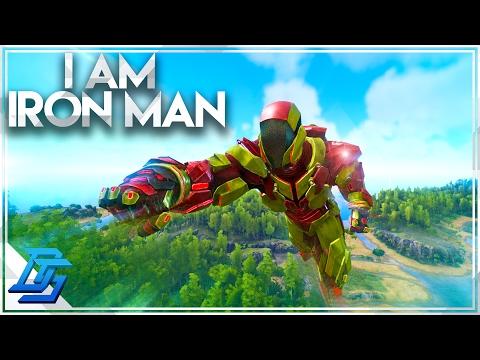 Ark Survival Evolved - Annunaki Genesis - Pt 9 - Tek Tier Fun, Tek Armor , I AM IRON MAN! (Modded)