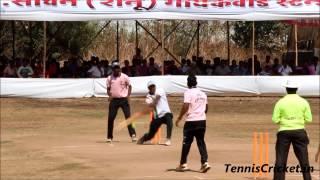 Pandya Batting & Bowling in Patil Chashak 2015, Thane Tennis Cricket