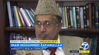 abc7: Ahmadiyya Muslims hold prayer vigil for San Bernardino victims