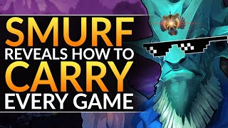 SMURF REVEALS how YOU can CARRY EVERY GAME - Best Tips to RANK UP as Any Hero - Dota 2 Pro Guide