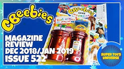 CBeebies Magazine Review Issue 522 December 2018/January 2019