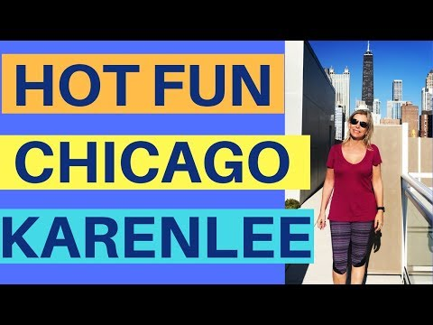 Hot Fun In The City - CHICAGO! Take A Tour With KarenLee! What To Do In Chicago In The Summer - Duur: 4:07.