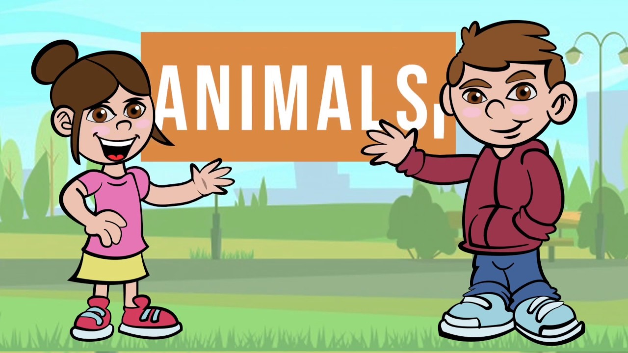 All about animals - fun for kids!